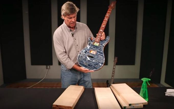 PRS Guitars i odwieczna miłość do drewna klonowego