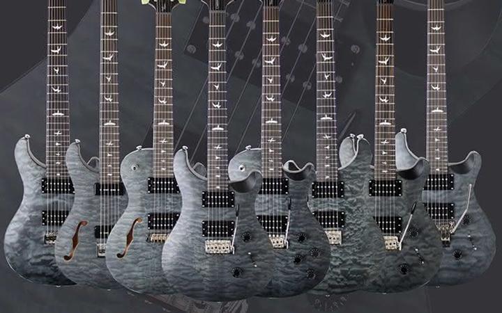 Limitowana seria gitar PRS SE Satin Quilt Stealth