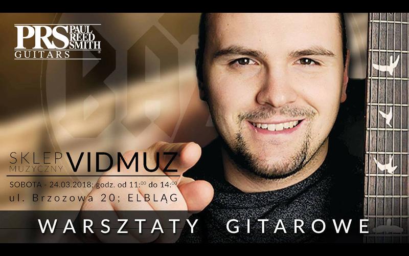 Warsztaty gitarowe Vidmuz Elbląg