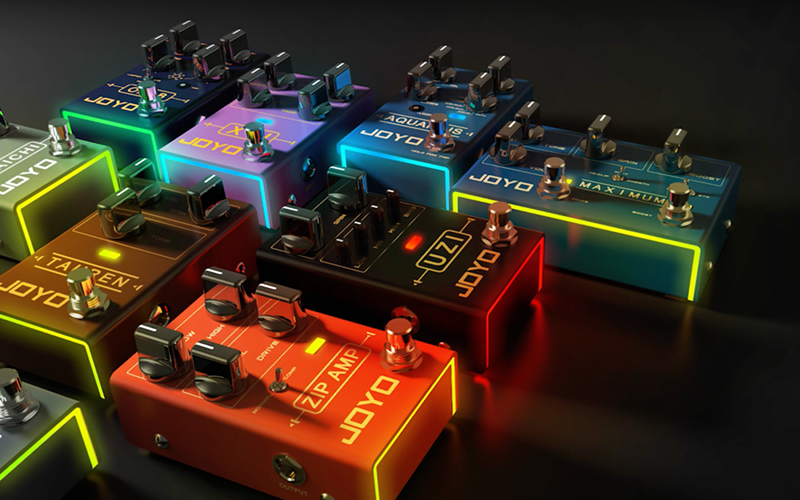 Joyo R-Series! New pedals are coming!