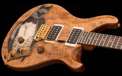 Special guitar from PRS – Michael Reid's Harpy