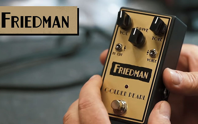 Friedman BE-OD Deluxe & Golden Pearl