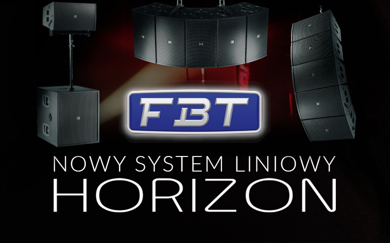 FBT Horizon – new line array system