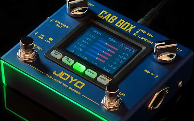 Joyo Cab Box – cabinet modeling pedal