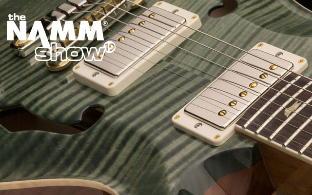 NAMM 19: PRS McCarty 594 Hollowbody II