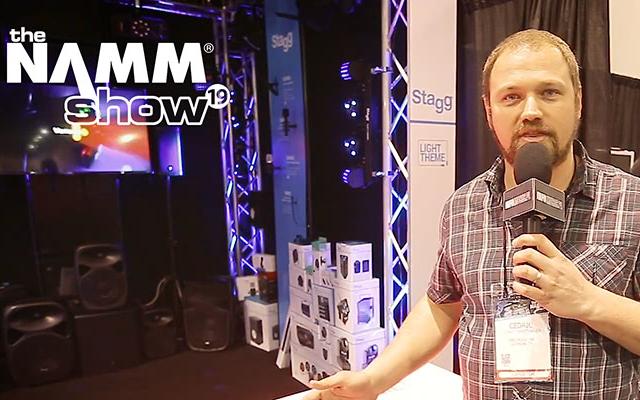 NAMM 2019: Mikser oświetlenia i nowe mikrofony od Stagg