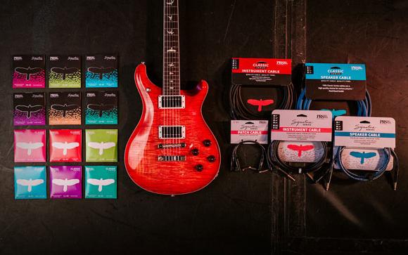 PRS Guitars z nowymi akcesoriami gitarowymi