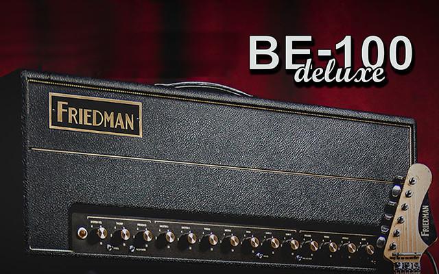 Friedman prezentuje nowego BE-100 Deluxe