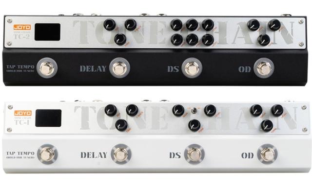 Tone Chain TC-1 i TC-2 – nowe multifunkcyjne efekty gitarowe Joyo
