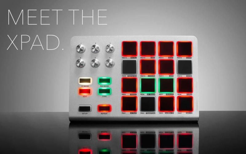NAMM 2020: Artesia prezentuje wielozadaniowy kontroler MIDI Xpad